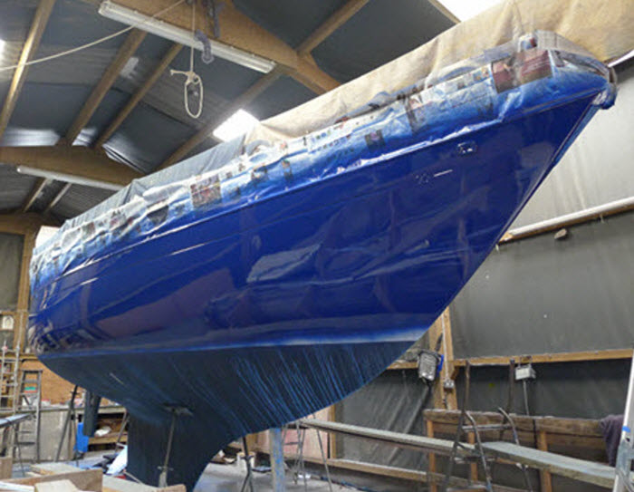 Boat Respraying Services