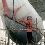 Dustless Boat Sandblasting Services