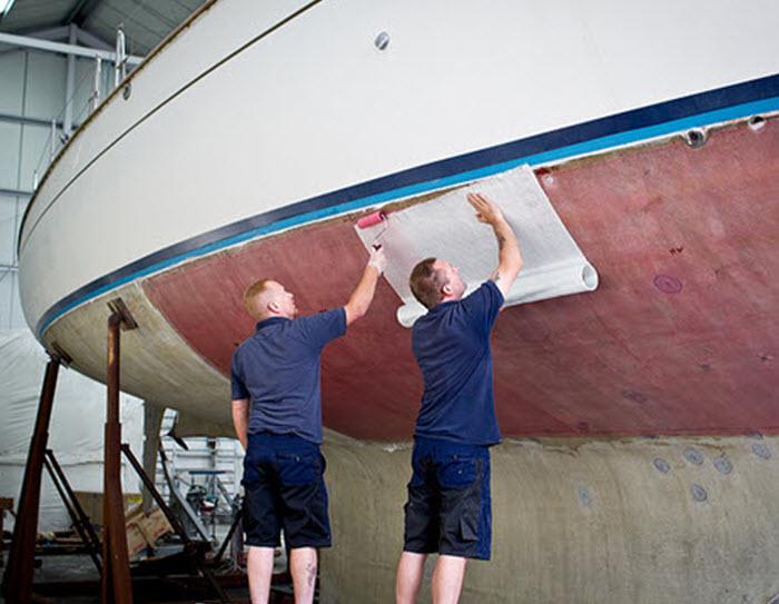 Marine Gel-coat Repairs